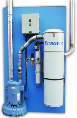 "Eurovac I - ""Board Mounted"" Central Vacuum"