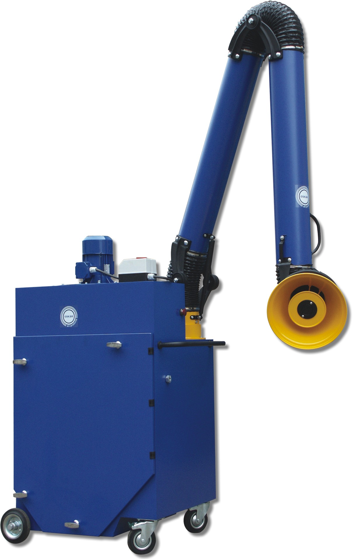 Industrial Downdraft Tables Fume Extraction Arm – Bench Mount