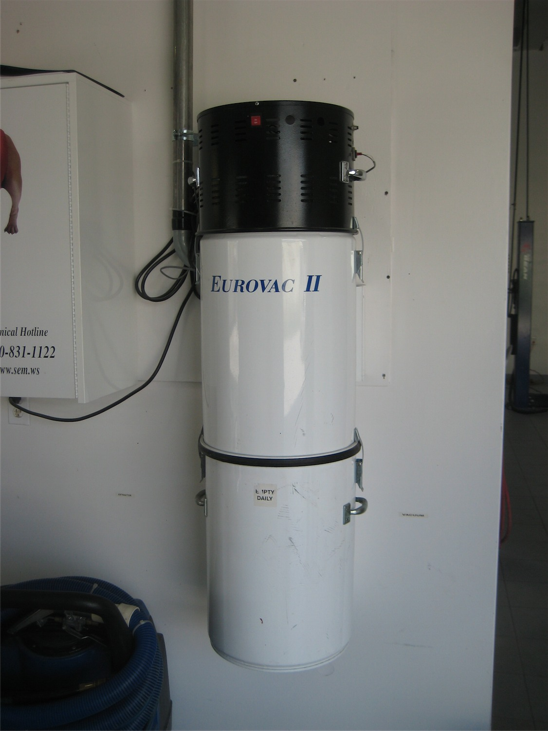 Eurovac Ii 2 5hp Central Vacuum System 2 User System