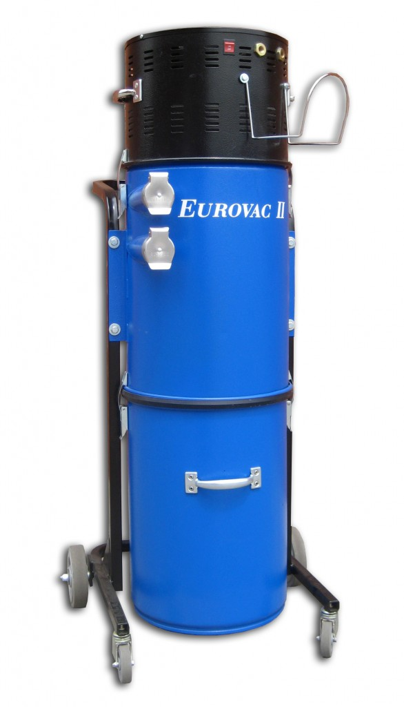Eurovac Ii 2 5hp Cyclonic Portable Vacuum System