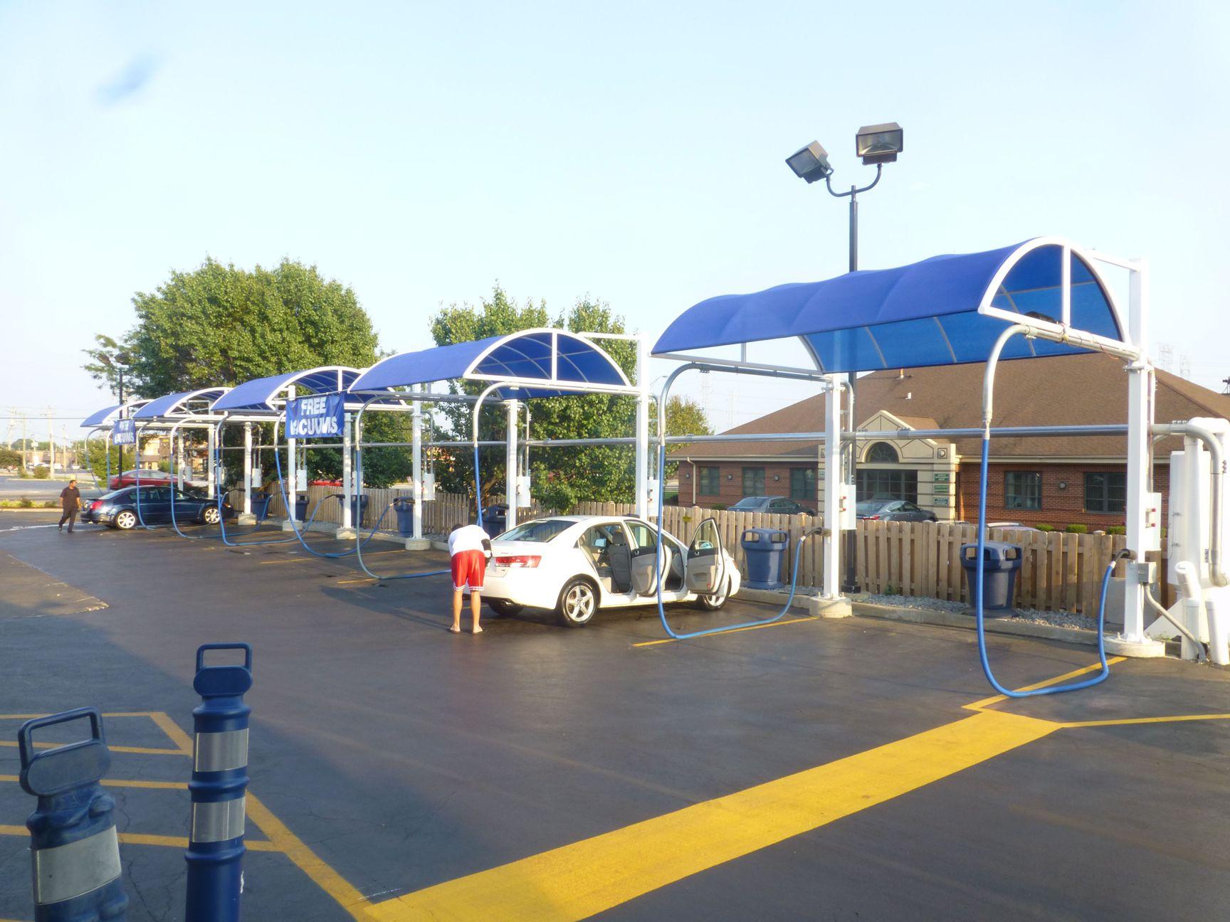 Carwash Canopy Amp Arch System