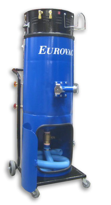 Eurovac ii wet mix dust collector for Portable dust collector motor blower