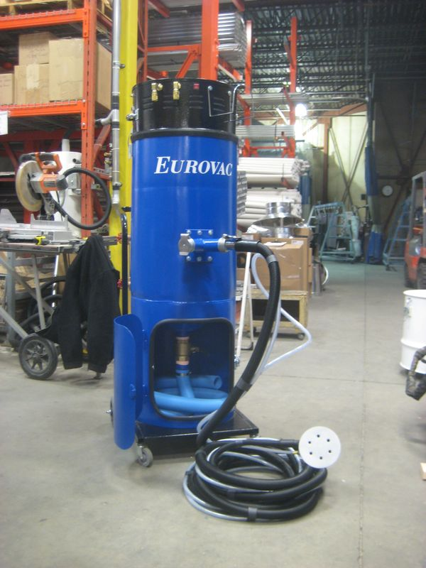 Eurovac Ii Wet Mix Dust Collector