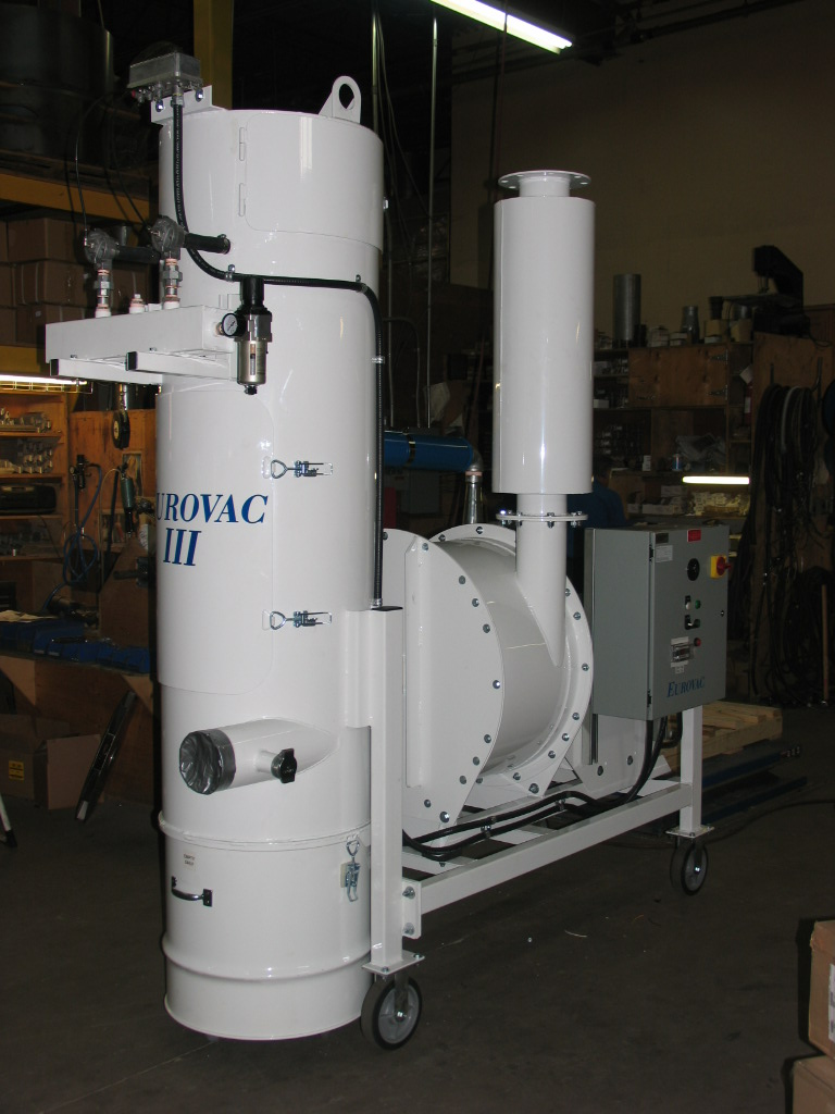Eurovac Iii 10hp To 100hp Portable Vacuum Systems