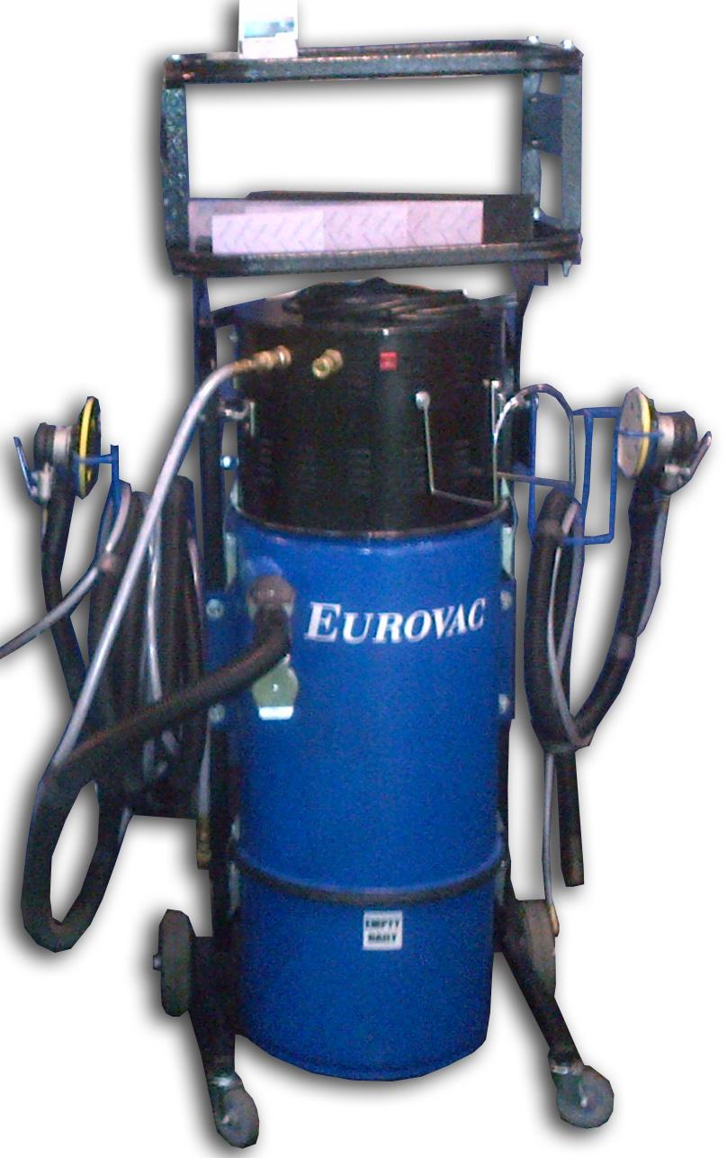 "Eurovac II – 2.5HP ""Compact Cyclonic"" Sanding Portable"