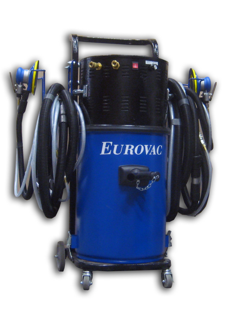 Eurovac Ii 2 5hp Compact Portable Vacuum System